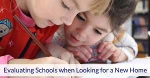 Evaluating Schools when Looking for a New Home